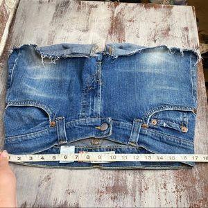Levi's Shorts - Levis Distressed Frayed Hem Jean Shorts 12